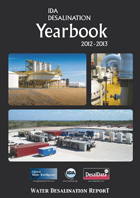 IDA Desalination Yearbook cover