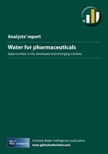Water for Pharmaceuticals: Opportunities in the developed and emerging markets